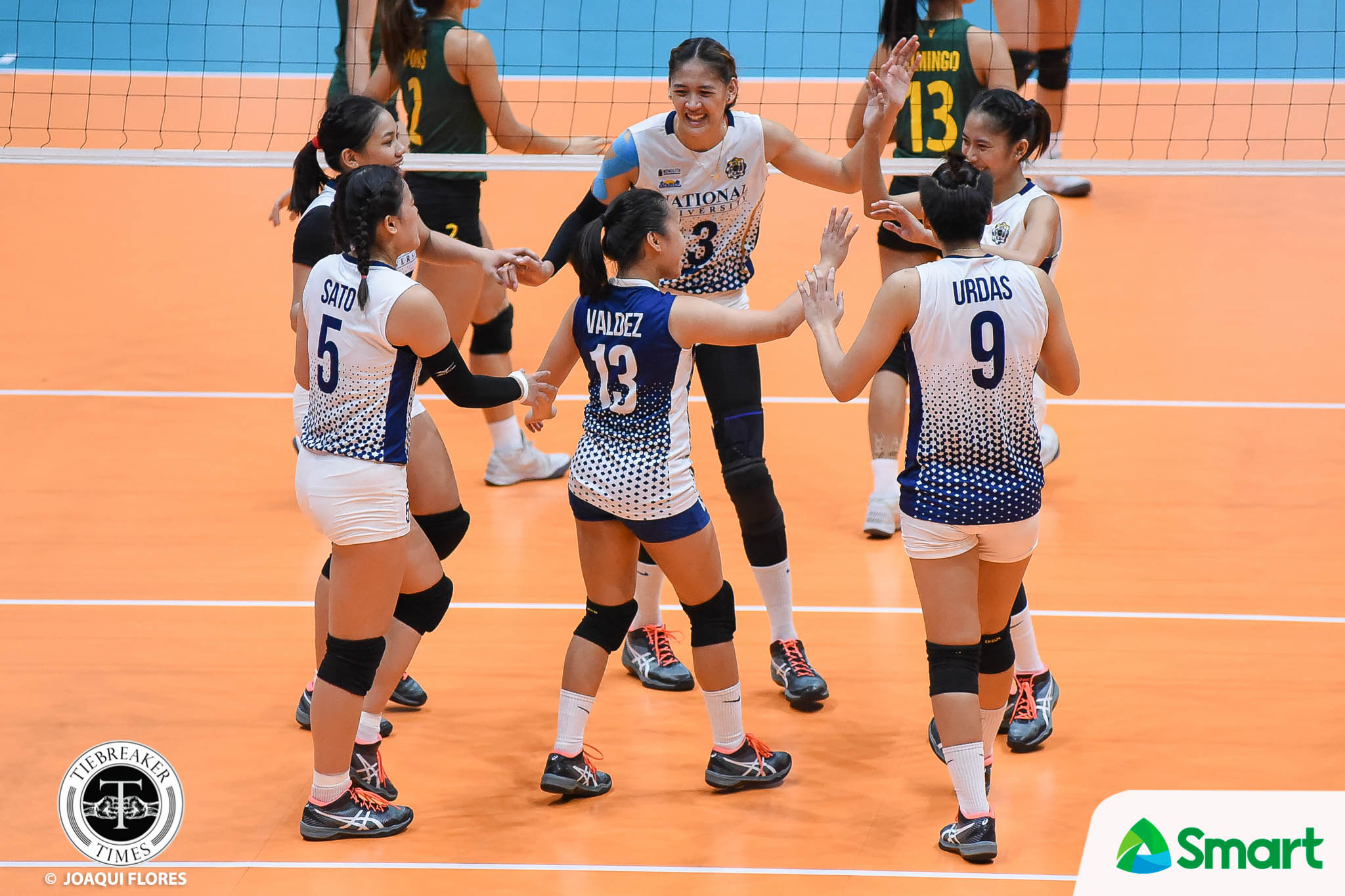 Tiebreaker Times After taking 'needed loss', Lady Bulldogs excited to face season's next cycle News NU UAAP Volleyball  UAAP Season 80 Women's Volleyball UAAP Season 80 NU Women's Volleyball Jaja Santiago Babes Castillo