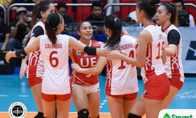 Philippine Sports News - Tiebreaker Times Rod Roque on SMART Sports Player of the Week Kath Arado: 'You're the one' News UAAP UE Volleyball  UE Women's Volleyball UAAP Season 80 Women's Volleyball UAAP Season 80 Rod Roque Kath Arado