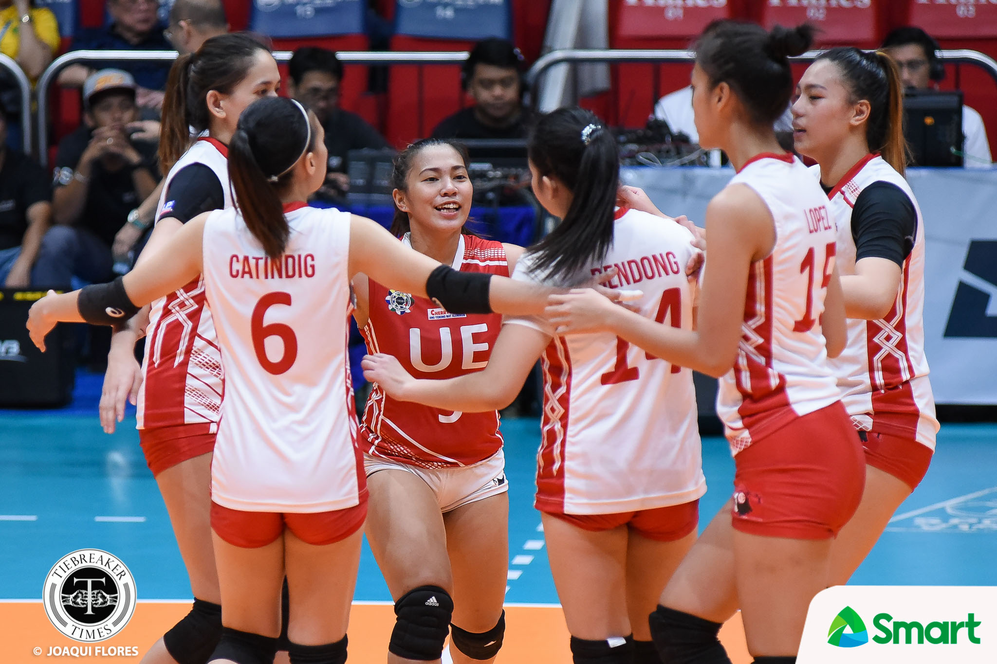 Tiebreaker Times Rod Roque on SMART Sports Player of the Week Kath Arado: 'You're the one' News UAAP UE Volleyball  UE Women's Volleyball UAAP Season 80 Women's Volleyball UAAP Season 80 Rod Roque Kath Arado