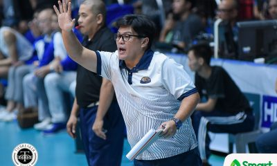 Tiebreaker Times Babes Castillo proud of Lady Bulldogs after character-building victory News NU UAAP Volleyball  UAAP Season 80 Women's Volleyball UAAP Season 80 NU Women's Volleyball Babes Castillo
