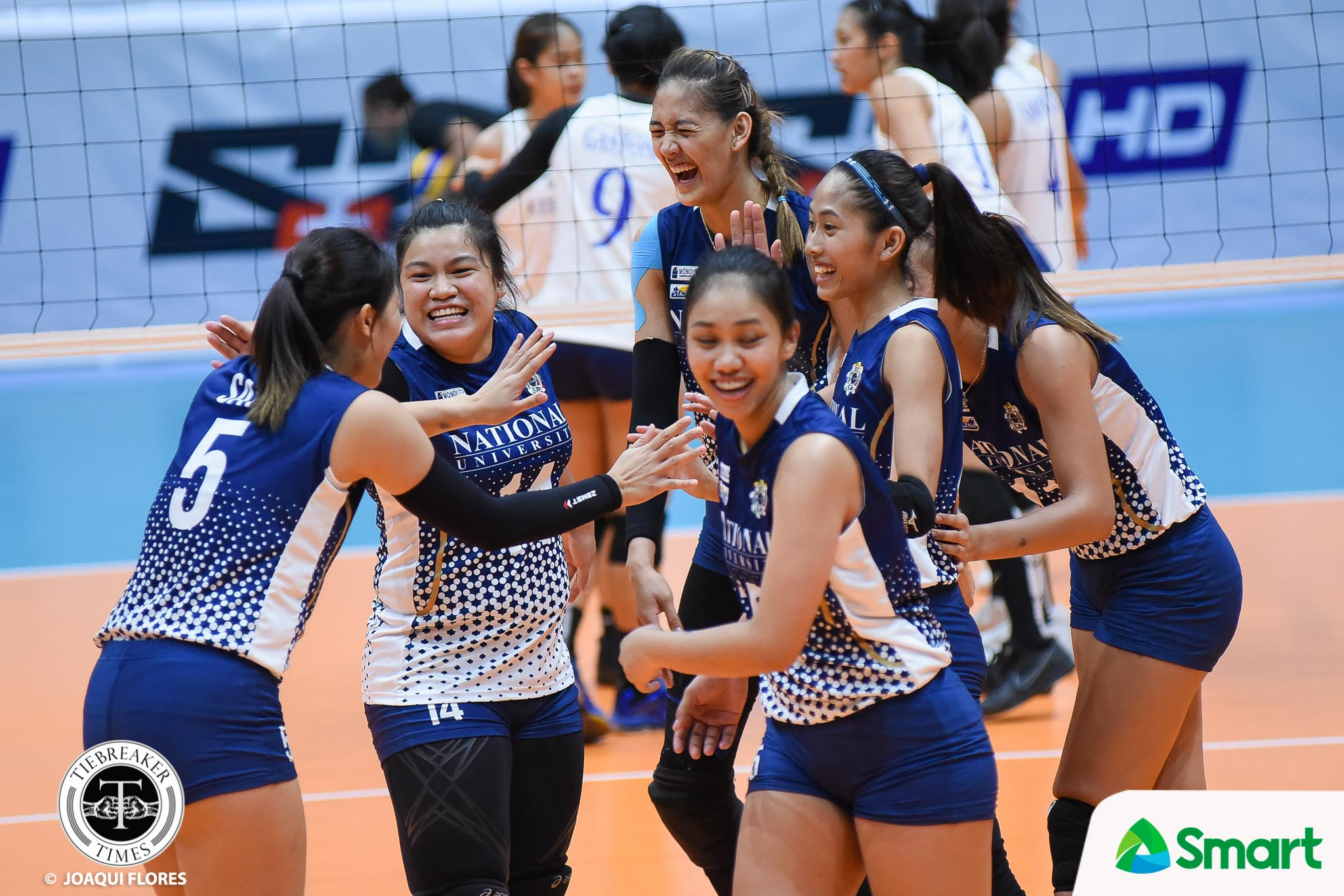 UAAP-80-Volleyball-NU-vs.-ADMU-Santiago-8708 Babes Castillo proud of Lady Bulldogs after character-building victory News NU UAAP Volleyball  - philippine sports news