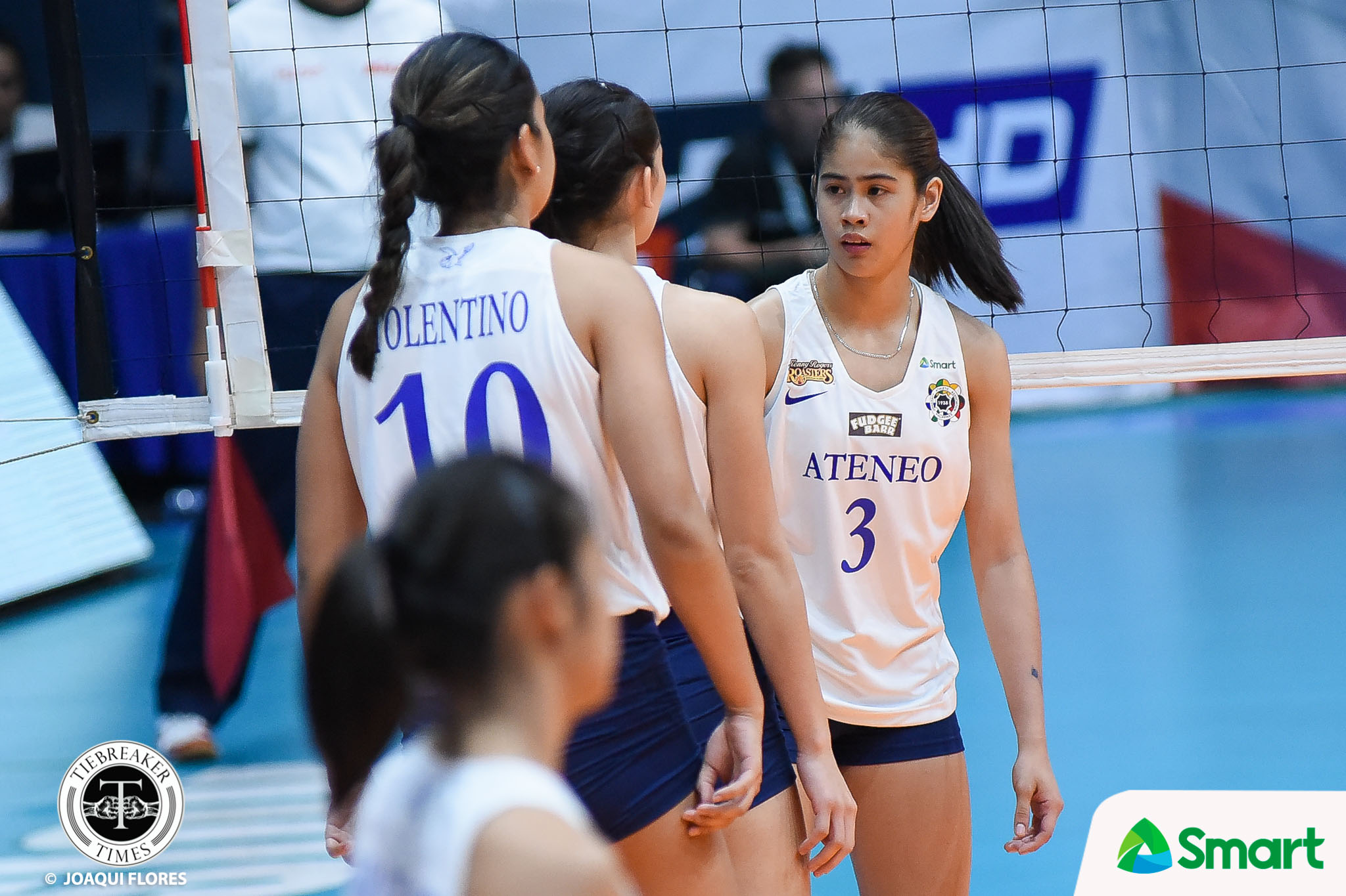 Tiebreaker Times Deanna Wong slowly gaining confidence after replacing 'legend' Jia Morado ADMU News UAAP Volleyball  UAAP Season 80 Women's Volleyball UAAP Season 80 Jia Morado Deanna Wong Ateneo Women's Volleyball
