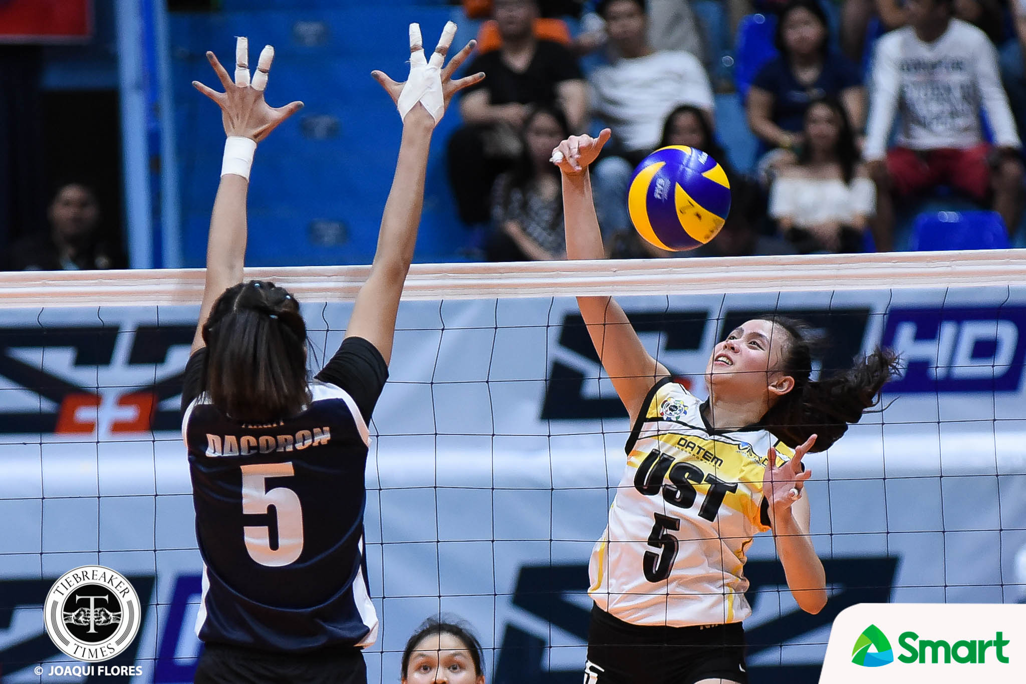 Tiebreaker Times UST is not just a Sisi Rondina team News UAAP UST Volleyball  UST Women's Volleyball UAAP Season 80 Women's Volleyball UAAP Season 80 Kungfu Reyes Cherry Rondina