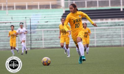 Philippine Sports News - Tiebreaker Times Aloha Bejic scores brace, Let Dimzon ejected as FEU condemns UP to barren first round FEU Football News UAAP UP  Vanessa Estrada UP Women's Football UAAP Season 80 WOmen's Football UAAP Season 80 Steph Permanes Let Dimzon Kimberly Parina FEU Women's Football Cristina De los Reyes Aloha Bejic