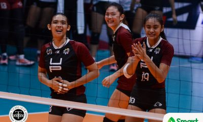 Tiebreaker Times Rosie Rosier relishing starting role with championship-hungry UP News PVL UP Volleyball  UP Women's Volleyball Roselyn Rosier Godfrey Okumu 2018 PVL Women's Collegiate Conference 2018 PVL Season