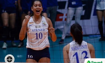 Tiebreaker Times Ateneo-Motolite to miss three starters against Creamline ADMU News PVL Volleyball  Maddie Madayag Kim Gequillana Kat Tolentino Ateneo-Motolite Lady Eagles 2018 PVL Season 2018 PVL Open Conference