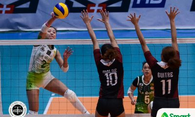 Tiebreaker Times Des Cheng much more comfortable two years removed from injury DLSU News UAAP Volleyball  UAAP Season 80 Women's Volleyball UAAP Season 80 Ramil De Jesus DLSU Women's Volleyball Desiree Cheng