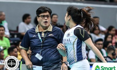 Tiebreaker Times Babes Castillo taking same approach in Seniors foray News NU UAAP Volleyball  UAAP Season 80 Women's Volleyball UAAP Season 80 NU Women's Volleyball Babes Castillo