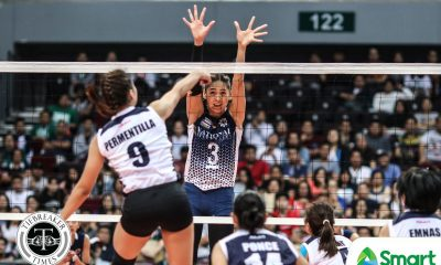 Tiebreaker Times Lady Bulldogs earn opening day win, overwhelm Lady Falcons AdU News NU UAAP Volleyball  UAAP Season 80 Women's Volleyball UAAP Season 80 NU Women's Volleyball Mylene Paat Joni Chavez Jasmine Nabor Jaja Santiago Chiara Permentilla Babes Castillo Audrey Paran Airess Padda Adamson Women's Volleyball
