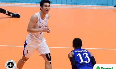 Tiebreaker Times Blue Eagles cruise past Red Warriors in lead up to crucial elims finale ADMU News UAAP UE Volleyball  UE Men's Volleyball UAAP Season 80 Men's Volleyball UAAP Season 80 Ron Medalla Rod Roque Oliver Almadro Marck Espejo Manuel Sumanguid Kim Adriano Ish Polvorosa Ateneo Men's Volleyball