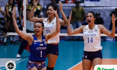 Tiebreaker Times Dani Ravena out for Ateneo-La Salle tiff ADMU News UAAP Volleyball  UAAP Season 80 Women's Volleyball UAAP Season 80 Dani Ravena Bong Ravena Ateneo Women's Volleyball