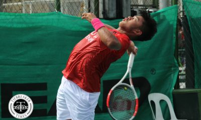Tiebreaker Times AJ Lim powers through to quarterfinals of SEA Games tennis, Patrimonio bows out 2019 SEA Games News Tennis  Treat Huey Jeson Patrombon Denise Dy Clarice Patrimonio AJ Lim 2019 SEA Games - Tennis 2019 SEA Games