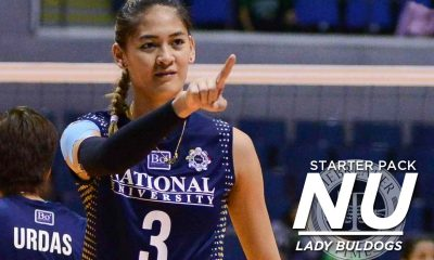 Tiebreaker Times UAAP Season 80 Starter Pack: NU Lady Bulldogs Bandwagon Wire News NU Volleyball  UAAP Season 80 Women's Volleyball UAAP Season 80 NU Women's Volleyball Jasmine Nabor Jaja Santiago Babes Castillo