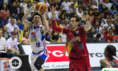 Philippine Sports News - Tiebreaker Times Ian Sangalang shows heart could overcome San Miguel with Game 1 outing Basketball News PBA  PBA Season 43 Magnolia Hotshots Ian Sangalang Chito Victolero 2017-18 PBA Philippine Cup