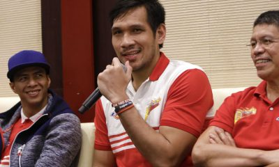 Philippine Sports News - Tiebreaker Times June Mar Fajardo looking to exact revenge on Hotshots Basketball News PBA  San Miguel Beermen PBA Season 43 June Mar Fajardo 2017-18 PBA Philippine Cup