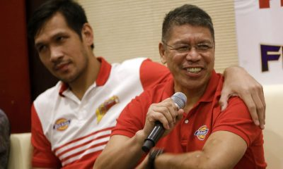 Philippine Sports News - Tiebreaker Times Leo Austria keen on keeping San Miguel's Philippine Cup tradition alive Basketball News PBA  San Miguel Beermen PBA Season 43 Leo Austria 2017-18 PBA Philippine Cup