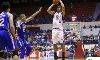 Philippine Sports News - Tiebreaker Times Hotshots regain series advantage over Road Warriors after heated Game 5 Basketball News PBA  Yeng Guiao Raul Soyud PBA Season 43 Paul Lee NLEX Road Warriors Mark Barroca Magnolia Hotshots Larry Fonacier Kiefer Ravena Ian Sangalang Chito Victolero Alex Mallari Aldrech Ramos 2017-18 PBA Philippine Cup