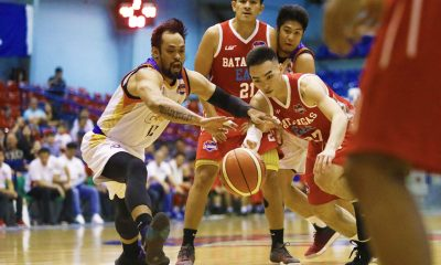 Tiebreaker Times Yankie Haruna, Jerwin Gaco lift Go for Gold to second straight win Basketball CSB EAC News PBA D-League  Yankie Haruna Philippine Sports News Justin Gutang JP Maguliano Jerwin Gaco J-Jay Alejandro Go-for-Gold Scratchers Charles Tiu Cedric De Joya Cedric Ablaza Batangas-EAC Generals Ariel Sison 2018 PBA D-League Season 2018 PBA D-League Aspirants Cup