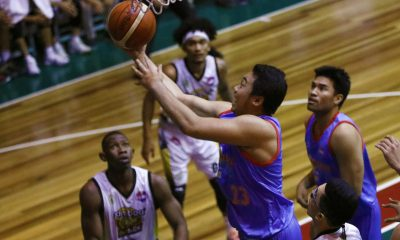 Philippine Sports News - Tiebreaker Times Marinerong Pilipino sails to sixth straight win, books playoffs ticket Basketball News PBA D-League  Vince Tolentino Trevis Jackson Mohammed Pare Marinerong Pilipino Koy Banal Jinino Manansala Gamboa-St. Clare Coffee Lovers Chris Bitoon Billy Ray Robles Aris Dionisio Alvin Pasaol 2018 PBA D-League Season 2018 PBA D-League Aspirants Cup