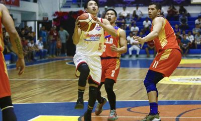 Tiebreaker Times Renzo Subido shines as Marinerong Pilipino surges late against Go for Gold Basketball CSB News PBA D-League  Renzo Subido Matt Salem Marinerong Pilipino Koy Banal Jerwin Gaco J-Jay Alejandro Go-for-Gold Scratchers Gab Banal Charles Tiu Billy Ray Robles Alvin Pasaol 2018 PBA D-League Season 2018 PBA D-League Aspirants Cup