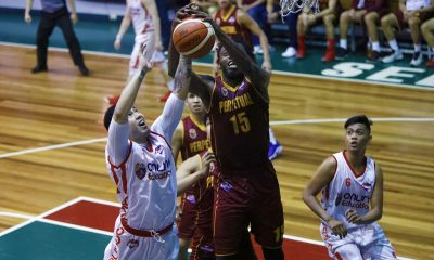 Philippine Sports News - Tiebreaker Times Prince Eze's 20-20 game keeps Perpetual alive in playoff race Basketball News PBA D-League UPHSD  Robbie Manalang Rey Anthony Peralta Prince Eze Perpetual Seniors Basketball Mark Herrera John Rey Villa Nueva James Martinez Frankie Lim Edgar Charcos AMA Online Education Titans 2018 PBA D-League Season 2018 PBA D-League Aspirants Cup
