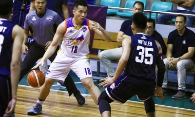 Philippine Sports News - Tiebreaker Times Paul Desiderio out to give Go for Gold late push to playoffs Basketball CSB News PBA D-League  Paul Desiderio J-Jay Alejandro Go-for-Gold Scratchers 2018 PBA D-League Season 2018 PBA D-League Aspirants Cup