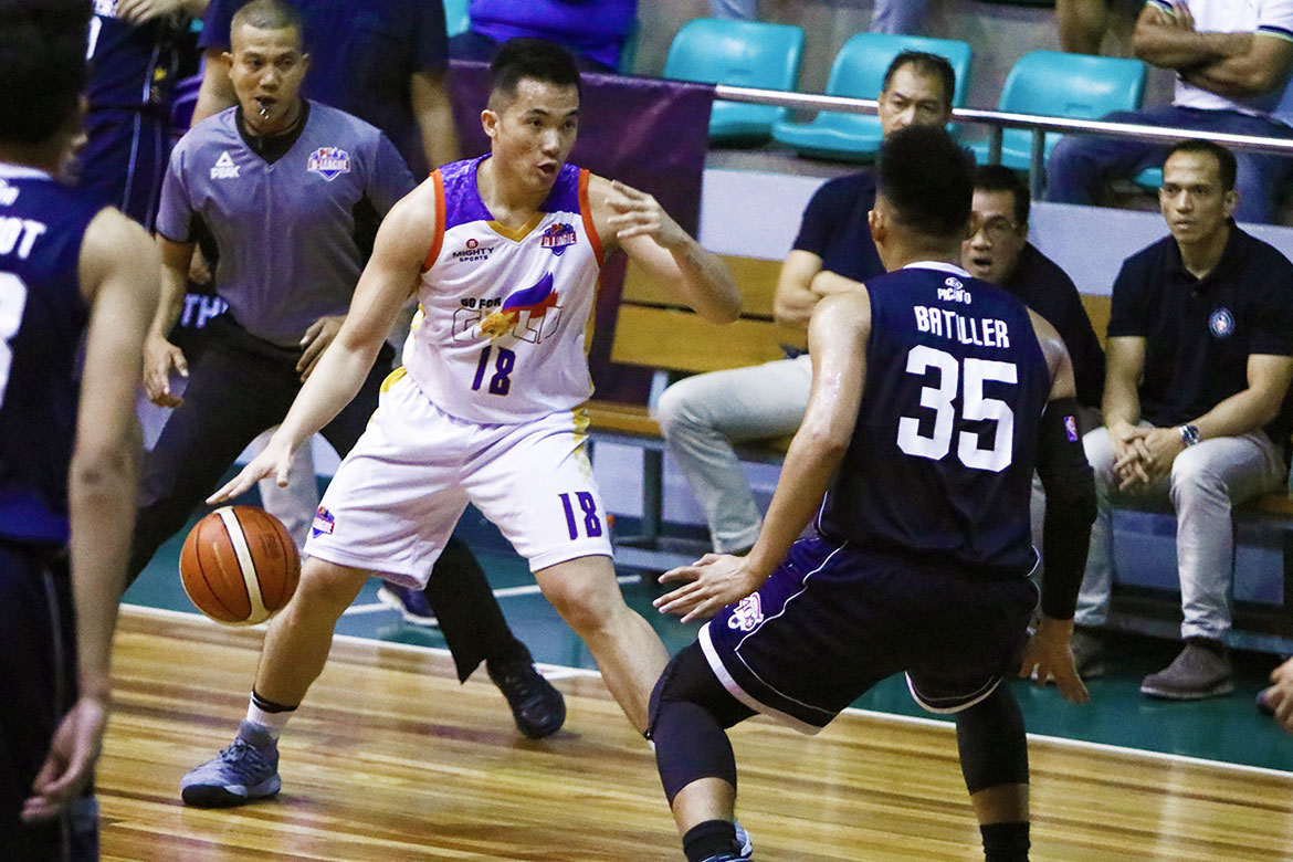 Tiebreaker Times Paul Desiderio out to give Go for Gold late push to playoffs Basketball CSB News PBA D-League  Paul Desiderio J-Jay Alejandro Go-for-Gold Scratchers 2018 PBA D-League Season 2018 PBA D-League Aspirants Cup