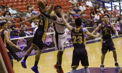Tiebreaker Times CJ Perez, Mike Nzesseu lift Zark's-Lyceum to solo fifth Basketball JRU LPU News PBA D-League  Zark's-Lyceum Jawbreakers Topex Robinson Ralph Tansingco MJ Dela Virgen Mike Nzeusseu Kris Porter JRU Seniors Basketball Jeckster Apinan Gio Lasquety CJ Perez 2018 PBA D-League Season 2018 PBA D-League Aspirants Cup