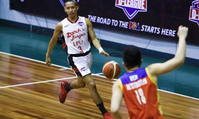 Philippine Sports News - Tiebreaker Times Jaycee Marcelino, Zark's-Lyceum hold off Go for Gold to snap skid Basketball CSB LPU News PBA D-League  Zark's-Lyceum Jawbreakers Yankie Haruna Topex Robinson MJ Ayaay Mike Nzeusseu Matt Salem Jaycee Marcelino Go-for-Gold Scratchers Clement Leutcheu CJ Perez Charles Tiu 2018 PBA D-League Season 2018 PBA D-League Aspirants Cup