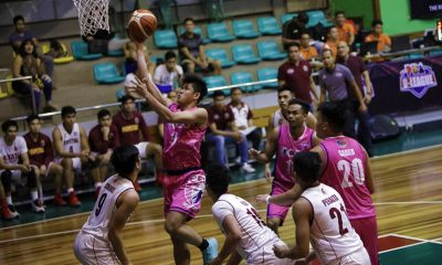 Philippine Sports News - Tiebreaker Times Rich Guinitaran heats up as CEU books first playoff spot Basketball News PBA D-League UPHSD  Yong Garcia Rod Ebondo Rich Guinitaran Prince Eze Perpetual Seniors Basketball Kim Aurin Joseph Manlangit Frankie Lim Edgar Charcos CEU Scorpions 2018 PBA D-League Season 2018 PBA D-League Aspirants Cup