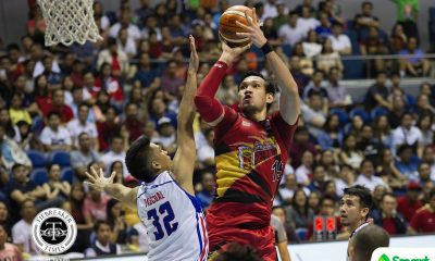 Philippine Sports News - Tiebreaker Times June Mar Fajardo rues error-plagued Game One outing: 'Masyado akong nanggigil' Basketball News PBA  San Miguel Beermen PBA Season 43 June Mar Fajardo 2017-18 PBA Philippine Cup