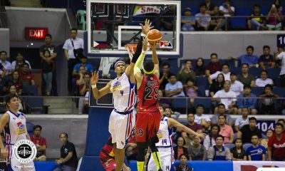 Philippine Sports News - Tiebreaker Times Rafi Reavis on clutch block: 'We never stop playing defense' Basketball News PBA  Rafi Reavis PBA Season 43 Magnolia Hotshots 2017-18 PBA Philippine Cup