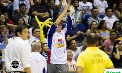 Tiebreaker Times Though still not yet cleared for return, Mark Pingris plans to entertain All-Star crowd Basketball News PBA  PBA Season 44 Marc Pingris Magnolia Hotshots 2019 PBA Philippine Cup