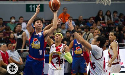 Tiebreaker Times Hotshots can't always play catch-up ball, says Ian Sangalang Basketball News PBA  PBA Season 43 Magnolia Hotshots Ian Sangalang Chito Victolero 2017-18 PBA Philippine Cup