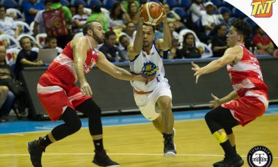 Philippine Sports News - Tiebreaker Times TNT boots out Phoenix, punches final playoff ticket Basketball News PBA  Troy Rosario TNT Katropa Roger Pogoy RJ Jazul Phoenix Fuel Masters PBA Season 43 Matthew Wright Kelly Williams Jericho Cruz Jayson Castro Jason Perkins Gelo Alolino Doug Kramer Anthony Semerad 2017-18 PBA Philippine Cup