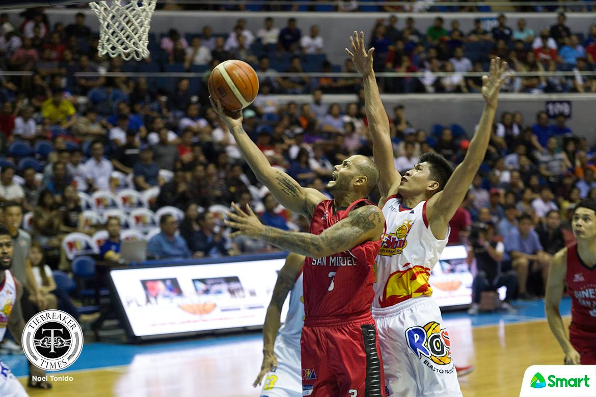 2018 pba philippine cup qf game 2 – ginebra def rain or shine – sol mercado