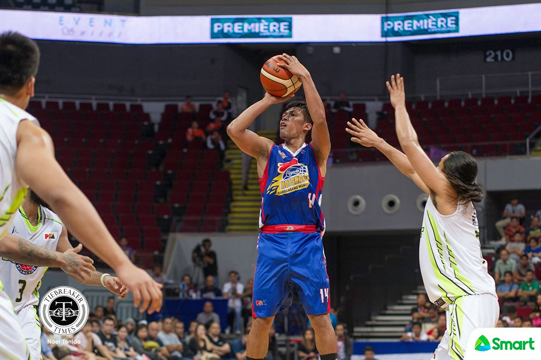 Tiebreaker Times Mark Barroca breaths sigh of relief: 'Parang nagchampion nga kami nung nanalo' Basketball News PBA  PBA Season 43 Mark Barroca Magnolia Hotshots 2017-18 PBA Philippine Cup
