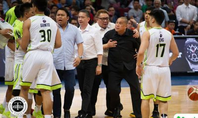 Philippine Sports News - Tiebreaker Times Pido Jarencio on confrontation with Terrence Romeo: 'Nagkasarapan lang' Basketball News PBA  Terrence Romeo Pido Jarencio PBA Season 43 Globalport Batang Pier 2017-18 PBA Philippine Cup