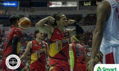 Philippine Sports News - Tiebreaker Times Chris Ross 'getting closer to a hundred percent' just in time for Finals Basketball News PBA  San Miguel Beermen PBA Season 43 Chris Ross 2017-18 PBA Philippine Cup
