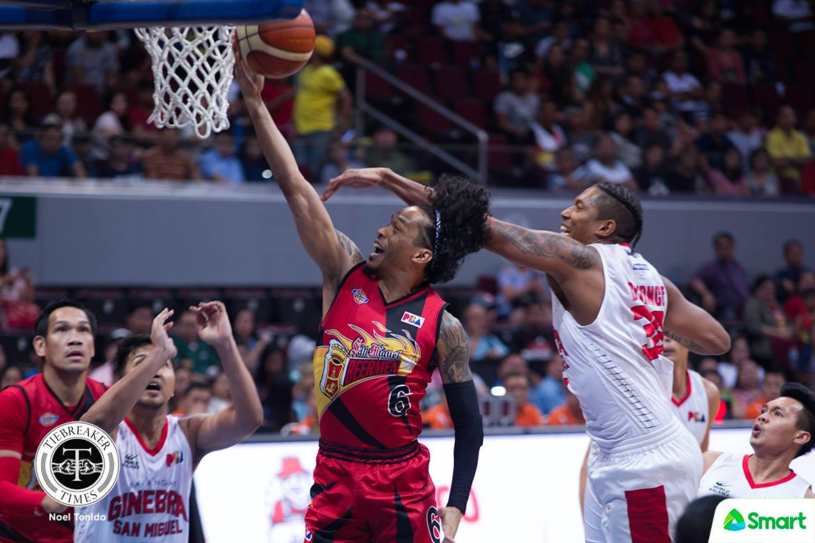 Philippine Sports News - Tiebreaker Times Chris Ross assures he's ready for Game 4 Basketball News PBA  San Miguel Beermen PBA Season 43 Chris Ross 2017-18 PBA Philippine Cup