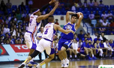 Philippine Sports News - Tiebreaker Times Kiefer Ravena hopes running mate Kevin Alas' injury is not serious Basketball News PBA  PBA Season 43 NLEX Road Warriors Kiefer Ravena 2017-18 PBA Philippine Cup