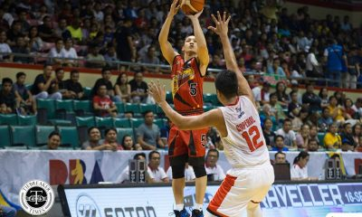 Philippine Sports News - Tiebreaker Times Determined Alex Cabagnot was confined in hospital hours before Game 5 Basketball News PBA  San Miguel Beermen PBA Season 43 Alex Cabagnot 2017-18 PBA Philippine Cup
