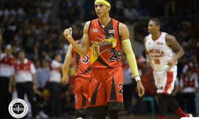 Philippine Sports News - Tiebreaker Times Arwind Santos looking to further solidify San Miguel's place in league history Basketball News PBA  San Miguel Beermen PBA Season 43 Arwind Santos 2017-18 PBA Philippine Cup