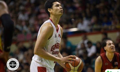 Philippine Sports News - Tiebreaker Times After giving his all, Japeth Aguilar concedes: 'Sobrang lakas nila' Basketball News PBA  PBA Season 43 Japeth Aguilar Barangay Ginebra San Miguel 2017-18 PBA Philippine Cup