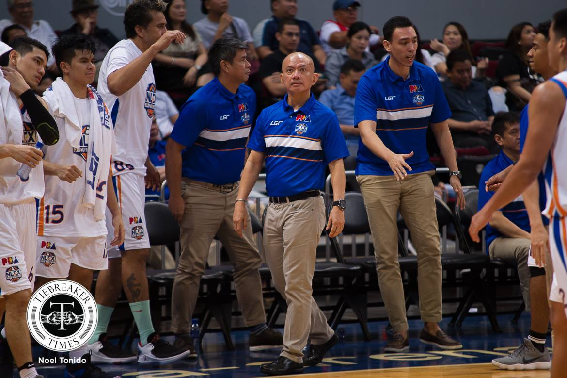 Tiebreaker Times Yeng Guiao rues NLEX's disappointing playoff send-off Basketball News PBA  Yeng Guiao Philippine Sports News PBA Season 43 NLEX Road Warriors 2017-18 PBA Philippine Cup