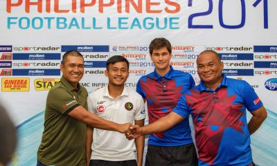 Philippine Sports News - Tiebreaker Times New-look Aguilas open campaign against Kaya Football News PFL  Noel Marcaida Marlon Maro Kaya-Iloilo FC Davao Aguilas 2018 PFL Season