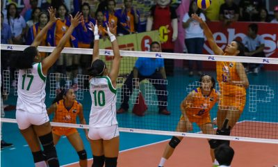 Philippine Sports News - Tiebreaker Times Generika-Ayala sneaks past Smart Prepaid for first win News PSL Volleyball  Symone Hayden SMART Prepaid Giga Hitters Sherwin Meneses Sanja Trivunovic Ron Dulay Gyselle Silva Generika Lifesavers Darlene Ramdin Bang Pineda April Hingpit 2018 PSL Season 2018 PSL Grand Prix
