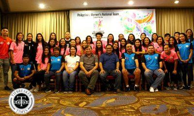 Philippine Sports News - Tiebreaker Times PWNFT hoping for a 'Miracle in Jordan' Football News Philippine Malditas  Rabah Benlarbi PFF Nonong Araneta 2018 AFC Women's Asian Cup