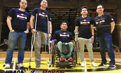 Philippine Sports News - Tiebreaker Times Chooks-to-Go, Gold's Gym extend support to Pilipinas Warriors Basketball News  Vernon Parea Ronald Mascarinas Pilipinas Warriors 2018 Asian Para Games