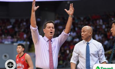 Philippine Sports News - Tiebreaker Times Tim Cone tips hat to Leo Austria: 'I was just totally outcoached and outclassed' Basketball News PBA  Tim Cone PBA Season 43 Barangay Ginebra San Miguel 2017-18 PBA Philippine Cup